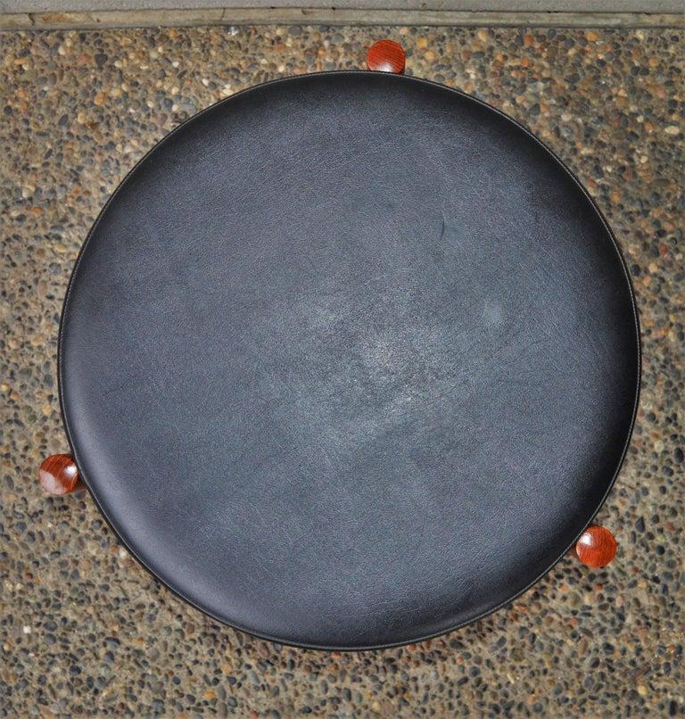 Danish Teak Stool or Table by Hugo Frandsen for Spottrup For Sale 1