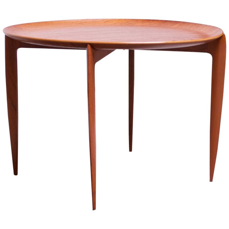 Danish Teak Tray Table 'Model 4508' by Willumsen and Engholm for Fritz Hansen