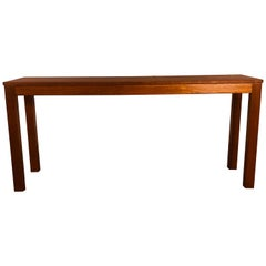 Danish Teak Trioh Console Table