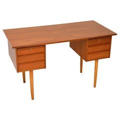 Danish Teak Vintage 1960's Desk