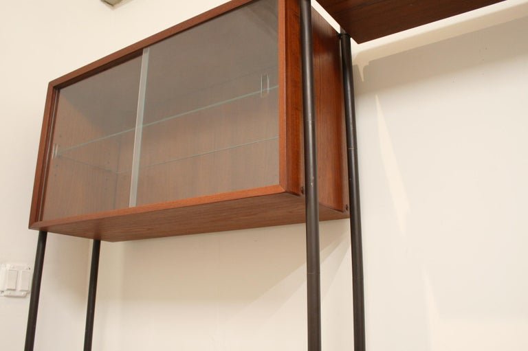 Danish Teak Wall System Attributed to Arne Vodder For Sale 2