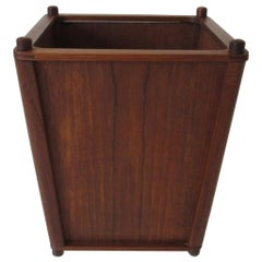 Danish Teak Waste Basket