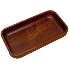 Danish Teak Wood Dresser Box