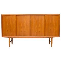 Danish Teak Wood Sideboard by Axel Christensen for ACO Mobler 1960s