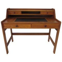 Danish Teak Wood Writing Desk