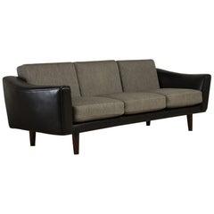 Danish Three-Seat Sofa by Illum Wikkelsoe, 1960s