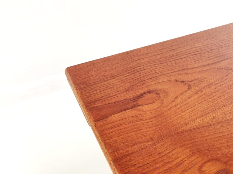 Danish Trioh Teak Metamorphic Dining Coffee Table Midcentury, 1960s In Good Condition For Sale In STOKE ON TRENT, GB