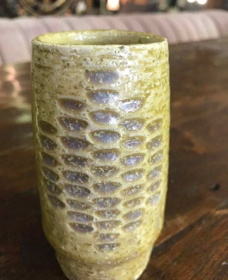 Mid-20th Century Danish Vase by Per Linnemann-Schmidt for Palshus, 1960s For Sale
