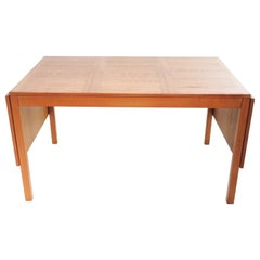Danish Vejle Stole Mobelfabrik Teak Extending Dining Table Mid Century
