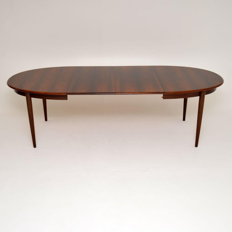 20th Century Danish Vintage Extending Dining Table For Sale