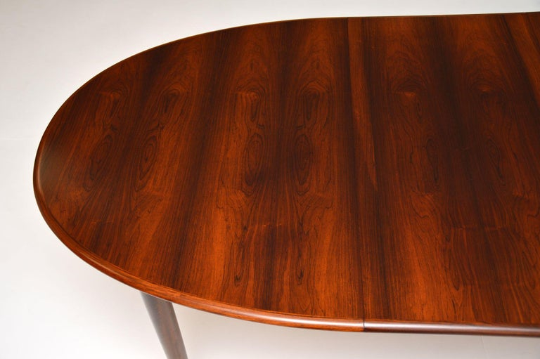 Danish Vintage Extending Dining Table For Sale 1