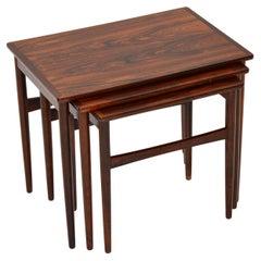 Danish Vintage Nest of Tables BR Gelsted