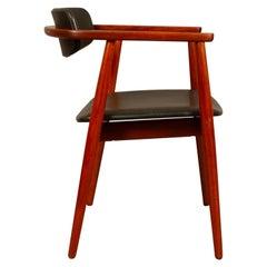 Danish Vintage Teak Armchair, 1960s