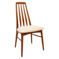Danish Vintage Teak Dining / Desk / Side Chair by Niels Koefoed