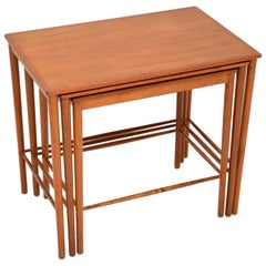 Danish Vintage Teak Nest of Tables by Grete Jalk