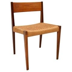 Danish Vintage Teak 'Pia' Chair by Poul Cadovius