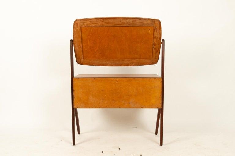 Danish Vintage Teak Vanity by Ølholm, 1960s For Sale 14