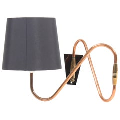 Danish Wall lamp in brass