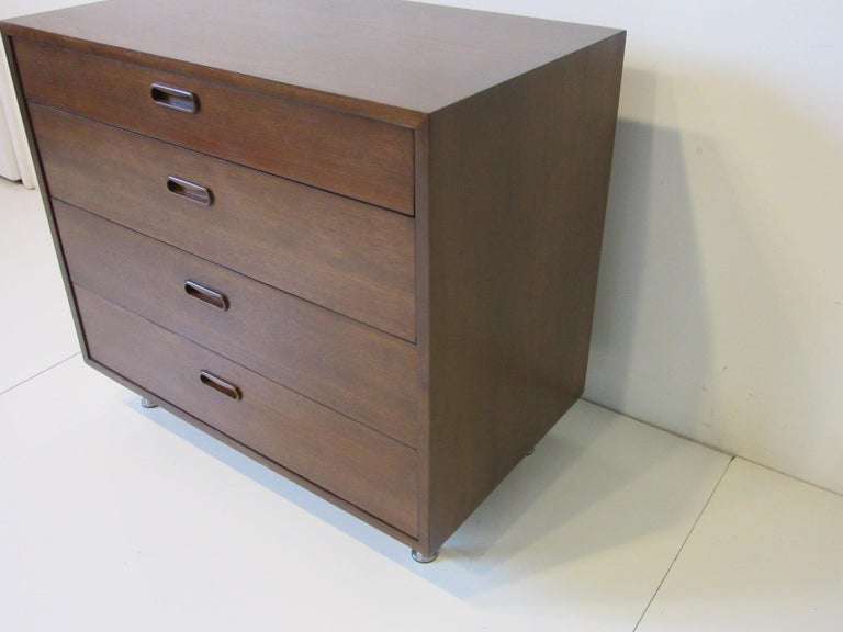Mid-Century Modern Danish Walnut Dresser / Chest by Poul Cadovius