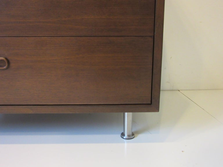 Danish Walnut Dresser / Chest by Poul Cadovius 1