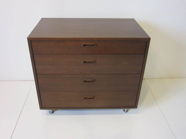 Danish Walnut Dresser / Chest by Poul Cadovius 2