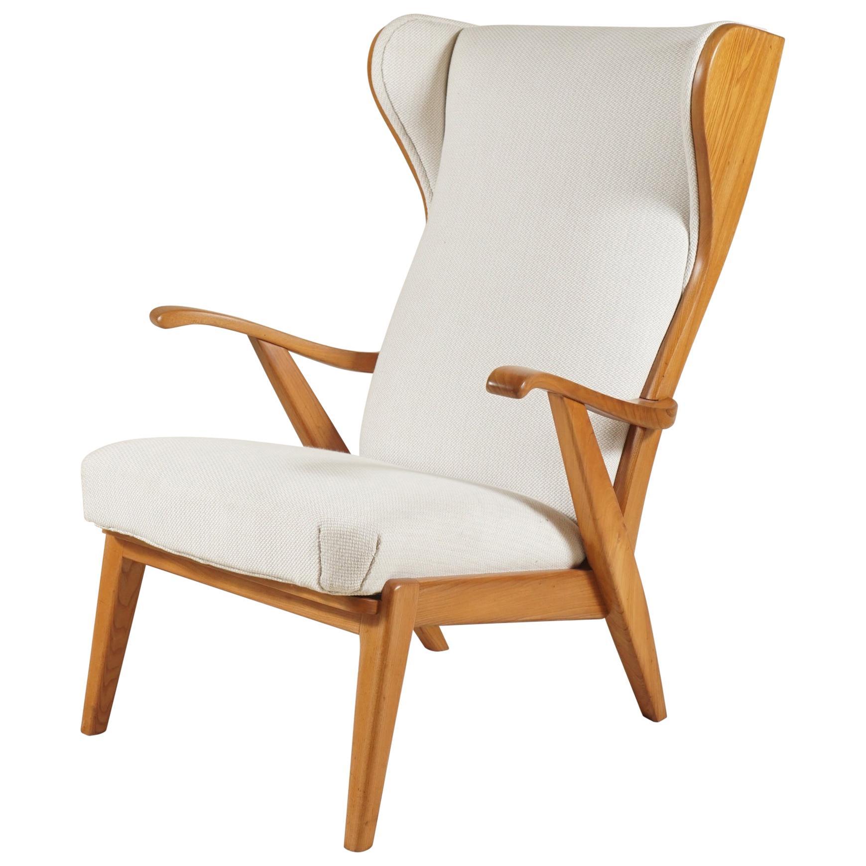 Danish Wingback Chair by Søren Willadsen