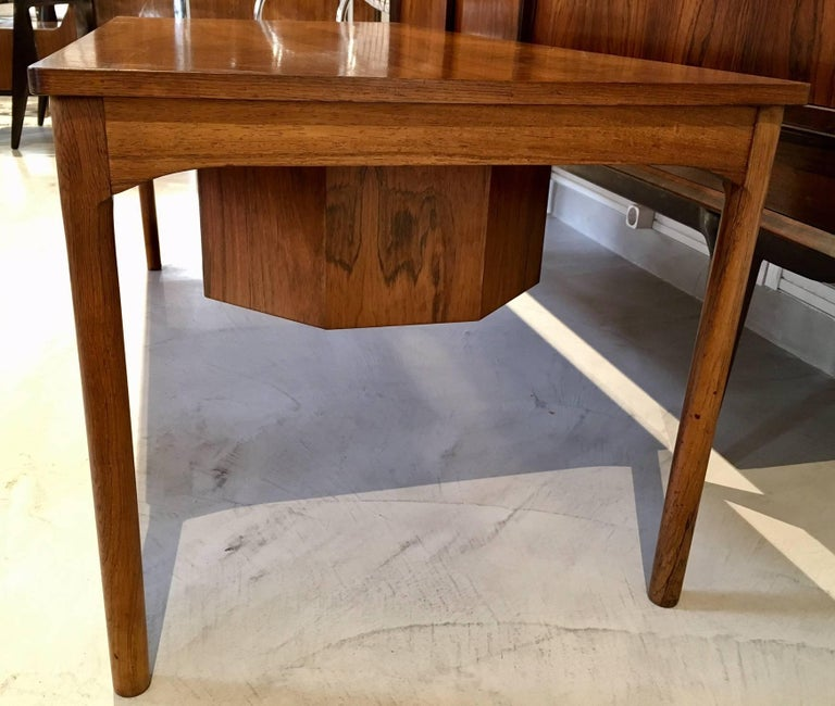 Danish Wooden Coffee Table with Haberdashery Drawers For Sale 4