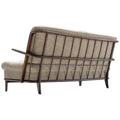 Danish Wooden Comfortable Basket Sofa