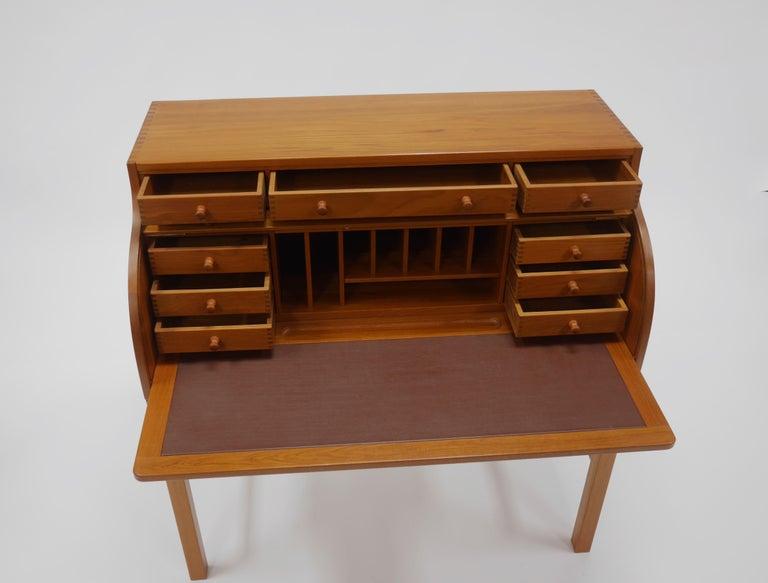 20th Century Danish Writer's Desk in Teak by Andreas Hansen For Sale