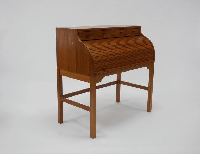 Danish Writer's Desk in Teak by Andreas Hansen For Sale 2