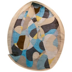 Danne Rug in Wool and Bamboo Silk by ATRA