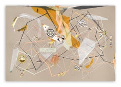 Linear Momentum and Collisions (Abstract painting)
