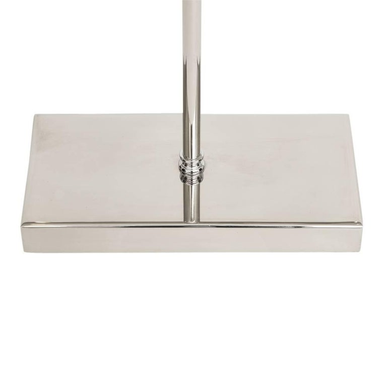 Danny Alessandro Fireplace Tools, Chrome Steel, Ring Handles For Sale 3