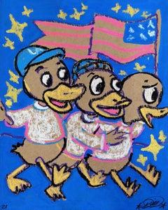 Three Ducks Get Buck At The OC Fair