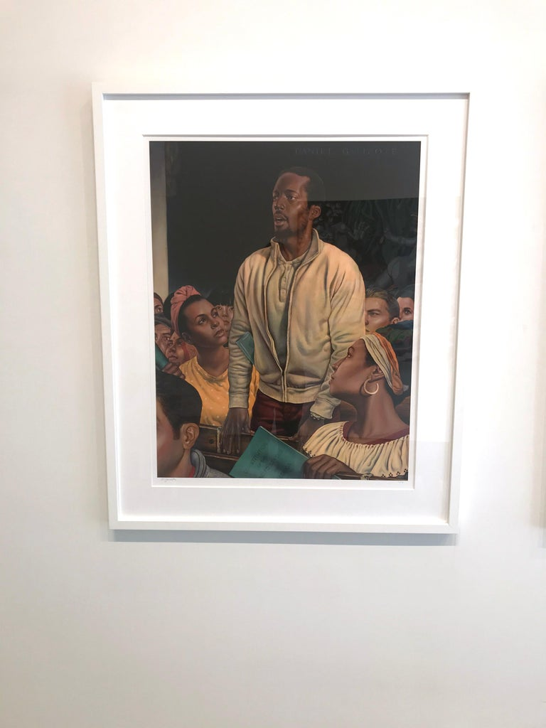 Freedom of Speech, Giclee-Ed. 2/10, Danny Galieote, Norman Rockwell's 4 Freedoms For Sale 4