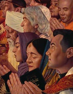 Freedom Of Worship, Danny Galieote, (Based on Norman Rockwell's Four Freedoms)
