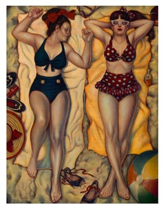 Summertime Bliss II, Danny Galieote, Limited Edition Giclee-Figurative Pop
