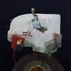 Pattern Rug, Oil Painting
