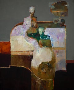 """""""Shapes"""" Oil Painting"""