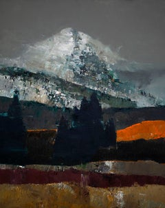 """Solo Peak"" Oil Painting"