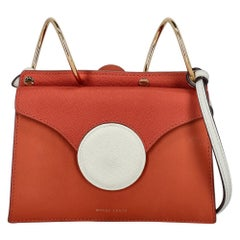 Danse Lente Woman Shoulder bag  Orange Leather