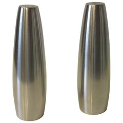 Dansk Stainless Salt and Pepper Shakers by Jens Quistgaard Denmark