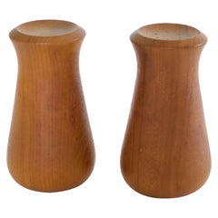 Dansk Teak Salt and Pepper Shakers