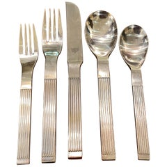 Dansk Thebe Stainless Flatware Service for 10