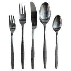 Dansk Variation 6 Flatware Set Service for 8