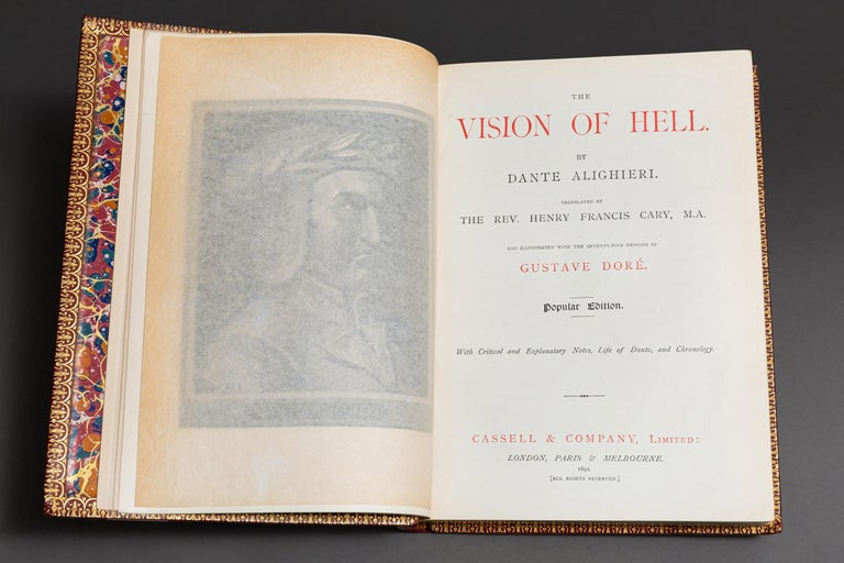 European Dante Alighieri The Vision of Hell For Sale