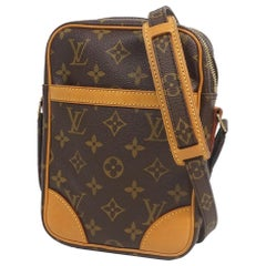 Danube  Womens  shoulder bag M45266 Leather