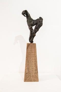 En Pointe, Contemporary Bronze Goat