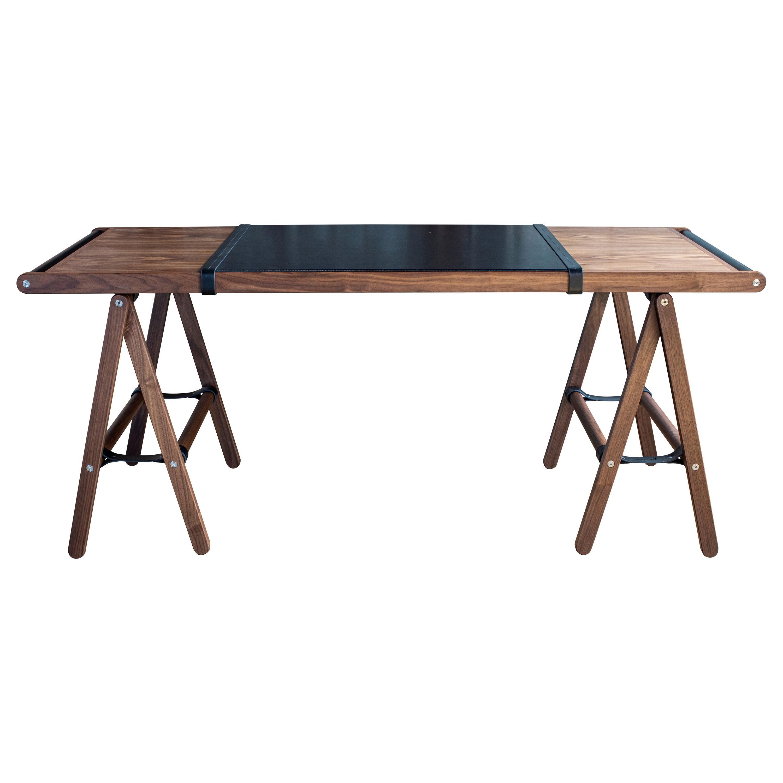 Danziger Desk in Oiled Walnut - handcrafted by Richard Wrightman Design
