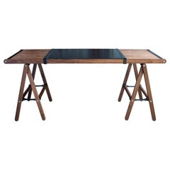 Danziger Desk in Oiled Walnut - handcrafted by Richard Wrightman Design
